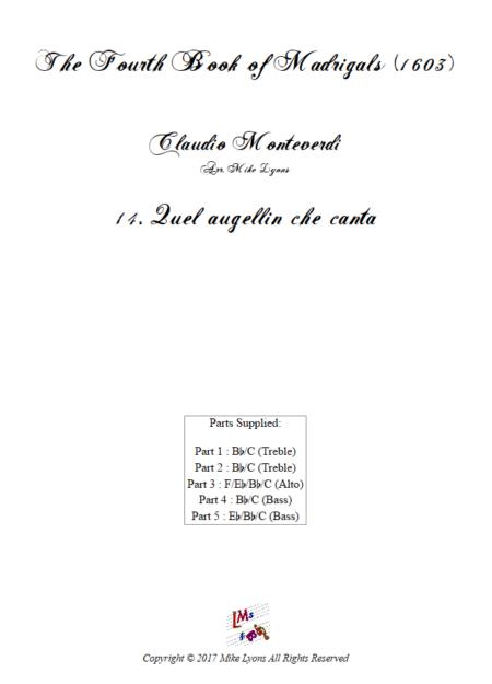 Madrigals Book 4 14