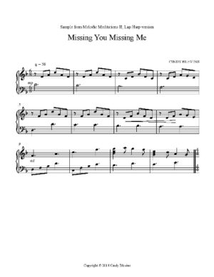 Melodic Meditations II, 10 Original Solos for Lap Harp