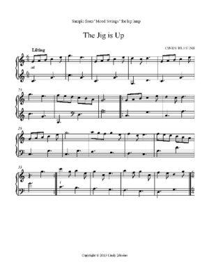 Mood Swings, 14 Original Solos for Lap Harp