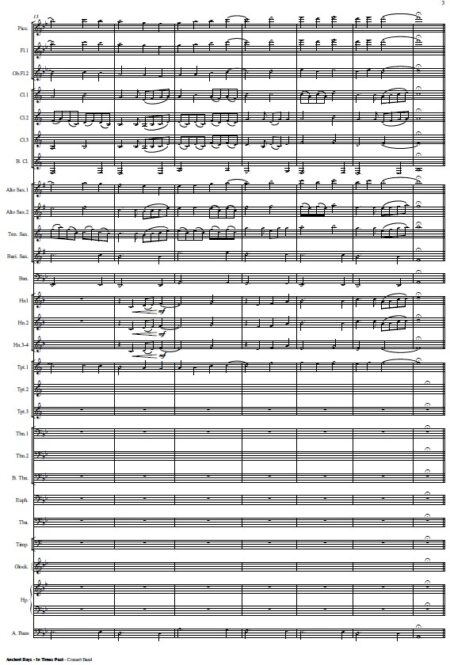 425 Ancient Days Concert Band SAMPLE page 03