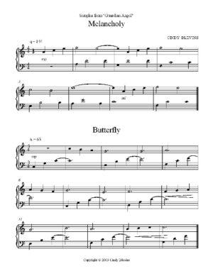 Guardian Angel, 28 Original Solos for Lap Harp