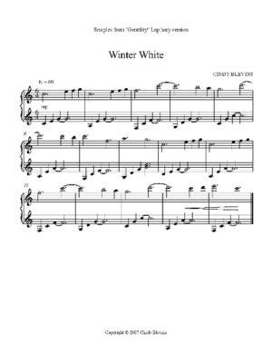 Gentility, 23 Original Solos for Lap Harp