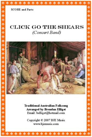 Click Go The Shears – Concert Band