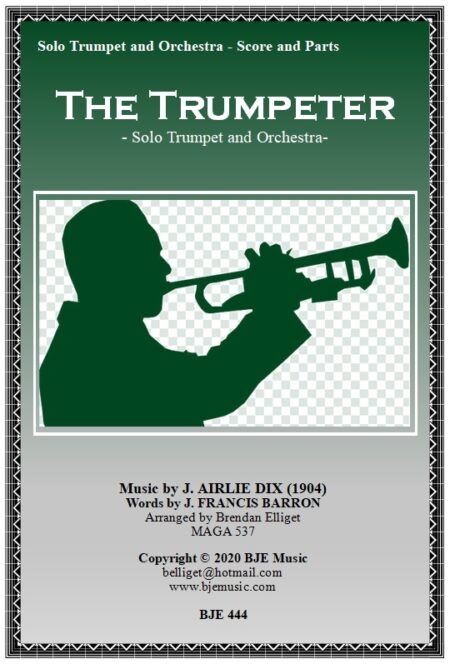 444 The Trumpeter Solo Trumpet and Orchestra