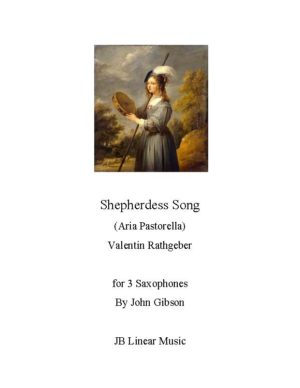 Shepherdess Song for Saxophone Trio