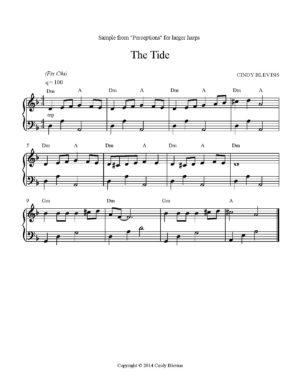 Perceptions, 14 Original Solos for Lever or Pedal Harp