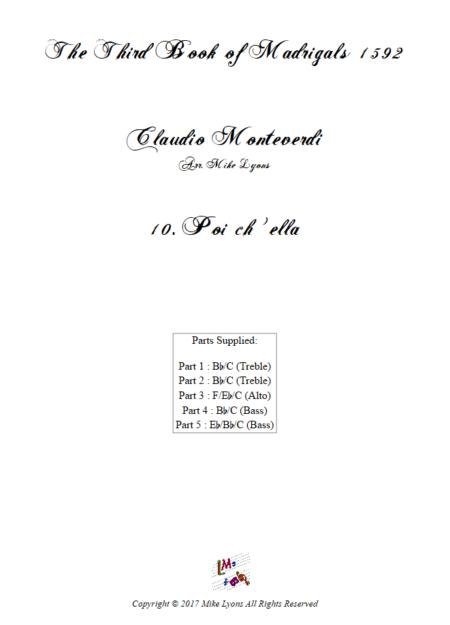 Madrigals Book 3 10
