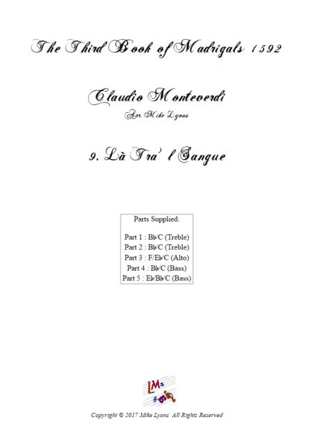 Madrigals Book 3 9