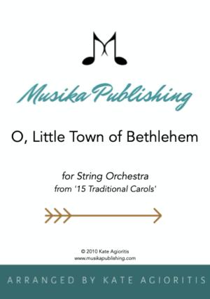 O Little Town of Bethlehem – String Orchestra