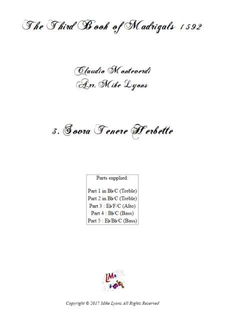 Madrigals Book 3 3