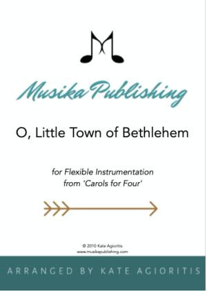O Little Town of Bethlehem – Flexible Instrumentation