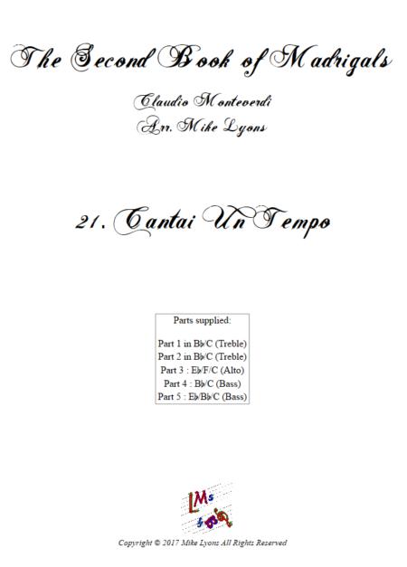 Madrigals Book 2 21