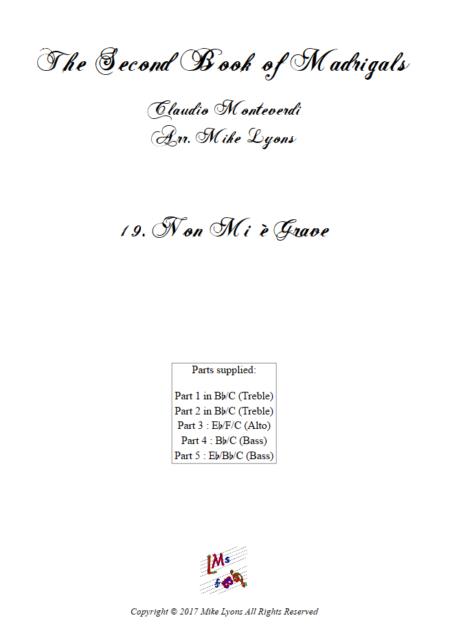 Madrigals Book 2 19