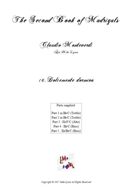 Madrigals Book 2 16