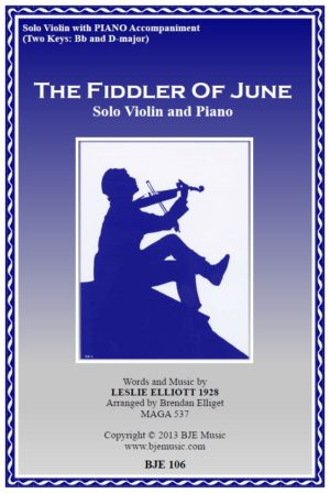 The Fiddler of June – Violin Solo and Piano