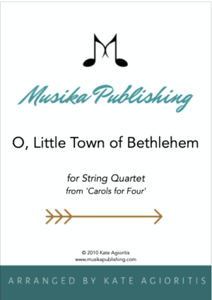 O Little Town of Bethlehem – String Quartet