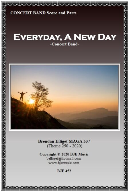 452 FC Everyday A New Day Concert Band BJE 452