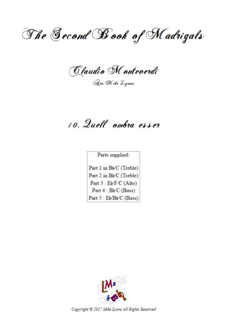 Madrigals Book 2 10