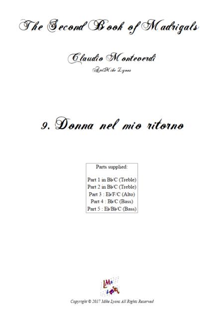 Madrigals Book 2 9