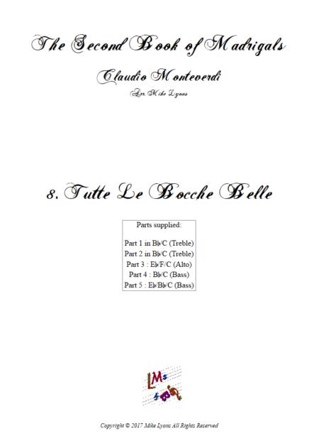 Madrigals Book 2 8