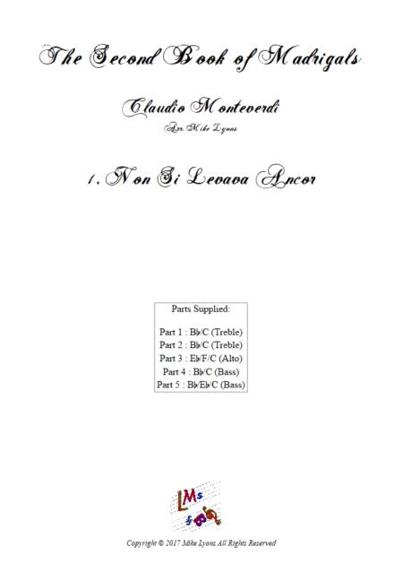 Madrigals Book 2 1