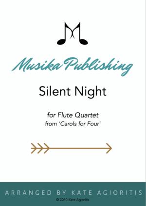Silent Night – Flute Quartet