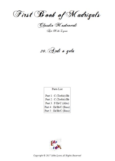 Madrigals Book 1 20