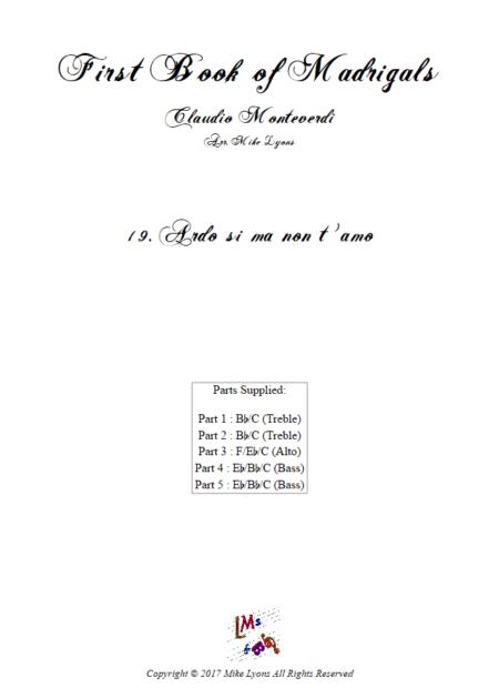Madrigals Book 1 19
