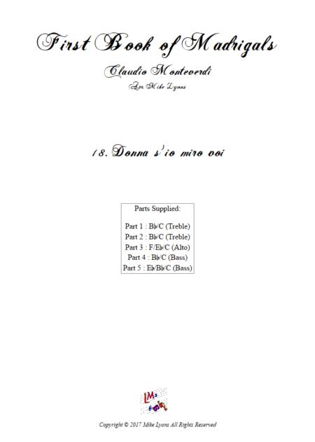 Madrigals Book 1 18