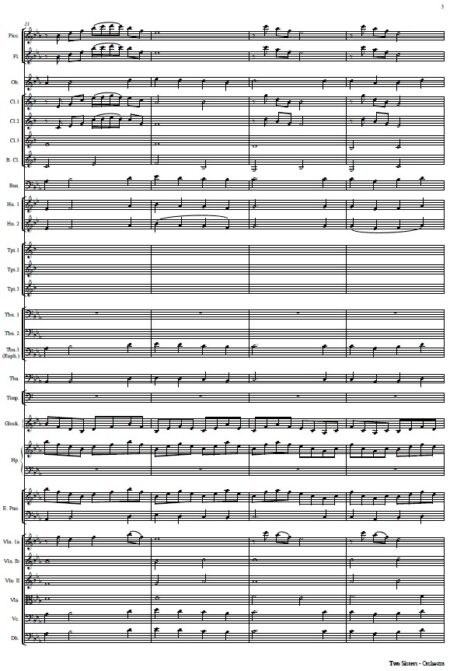 112 Two Sisters Orchestra SAMPLE page 03