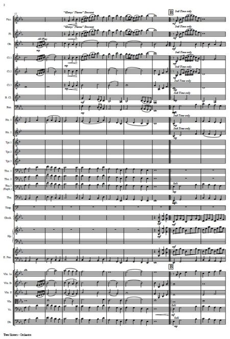 112 Two Sisters Orchestra SAMPLE page 02