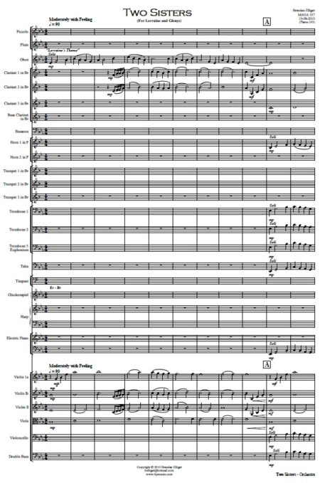 112 Two Sisters Orchestra SAMPLE page 01