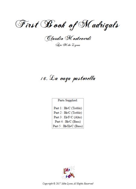 Madrigals Book 1 16