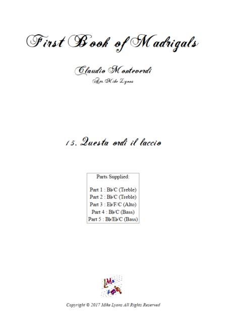 Madrigals Book 1 15