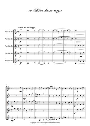 Flexi Quintet Monteverdi, 1st Book of Madrigals 1. – 10. Almo divino raggio