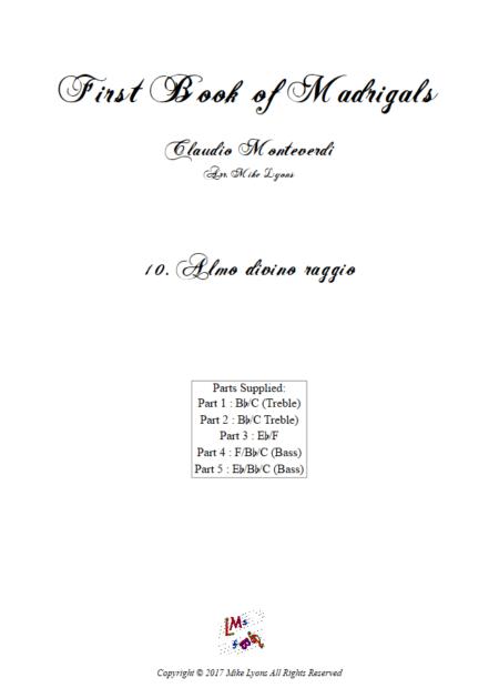 Madrigals Book 1 10