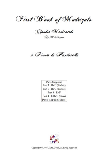Madrigals Book 1 9