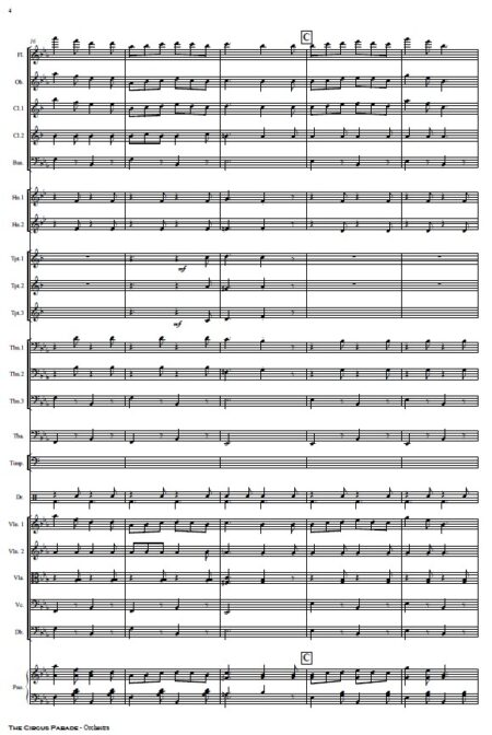 109 The Circus Parade Orchestra SAMPLE page 04