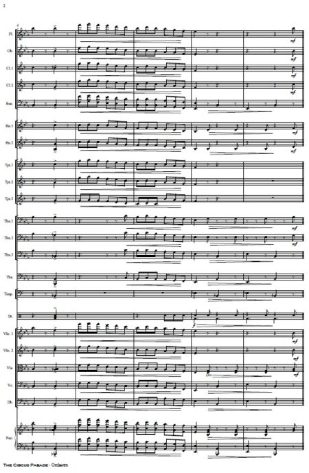 109 The Circus Parade Orchestra SAMPLE page 02