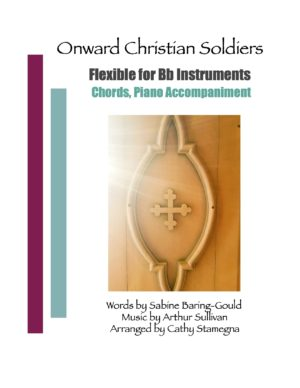 Onward Christian Soldiers (Chords, Piano Accompaniment) Bassoon, Oboe, Bb Instruments