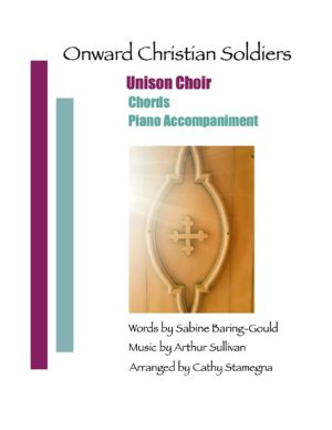 Onward Christian Soldiers (Chords, Piano Accompaniment) for Unison Choir, Vocal Solo, Piano Accompaniment mp3