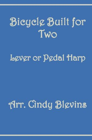 Bicycle Built for Two, Harp Solo with Recording, Lever or Pedal Harp