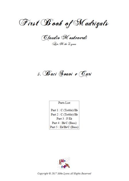 Madrigals Book 1 5