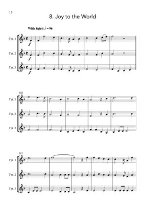 Carols for Three – 15 Carols for Trumpet Trio