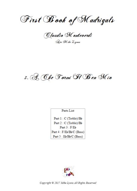 Madrigals Book 1 3