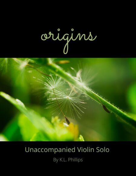 Origins - Unaccompanied Violin Solo cover