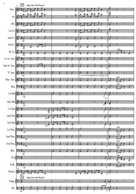 010 The Nursery Rhyme Suite Concert Band SAMPLE page 04