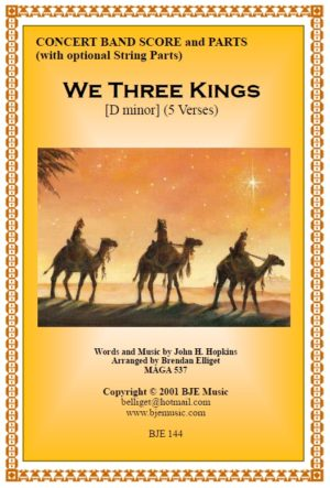 We Three Kings – Concert Band / Orchestra