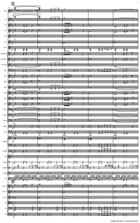 478 Journey to the Oasis Concert Band Orchestra SAMPLE page 07