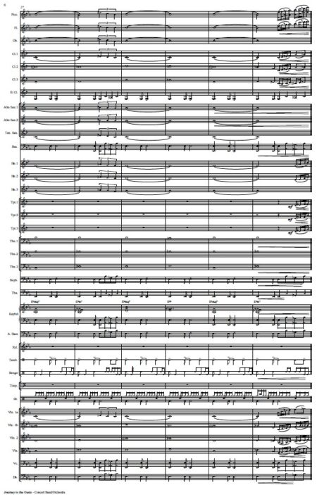 478 Journey to the Oasis Concert Band Orchestra SAMPLE page 06